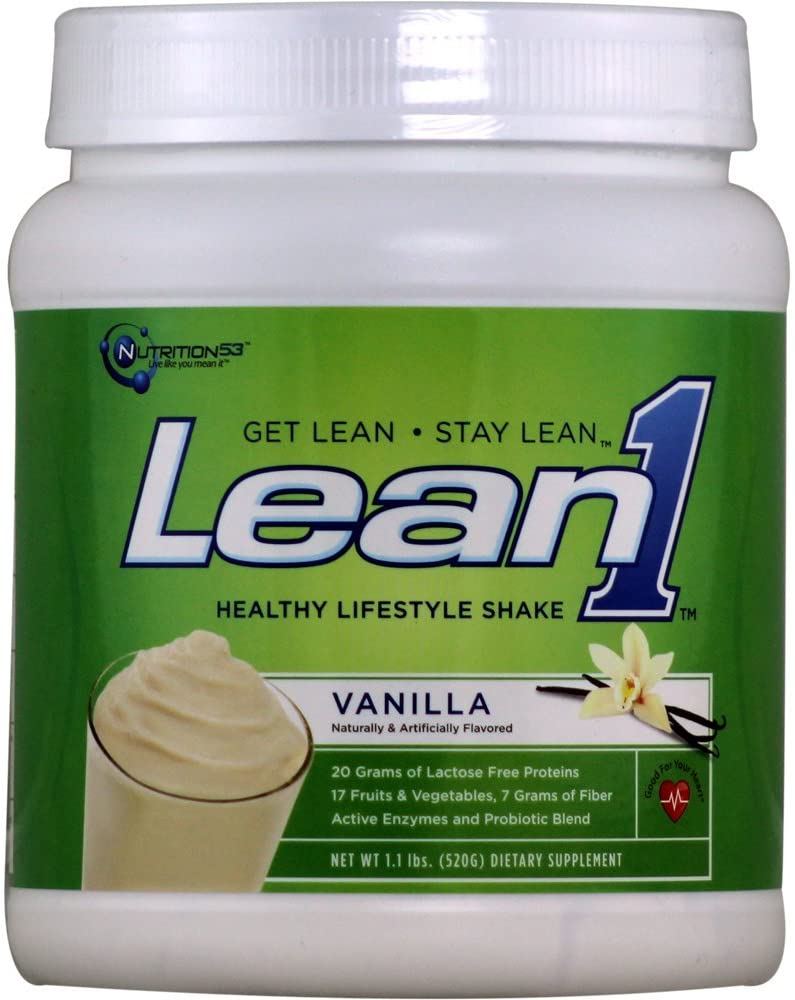 Lean1 Shake Vanilla 1.10 Pounds