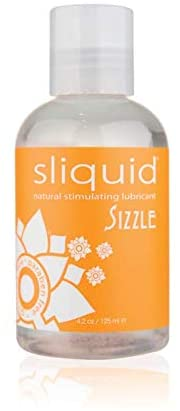 Sliquid Naturals Sizzle 4.2oz