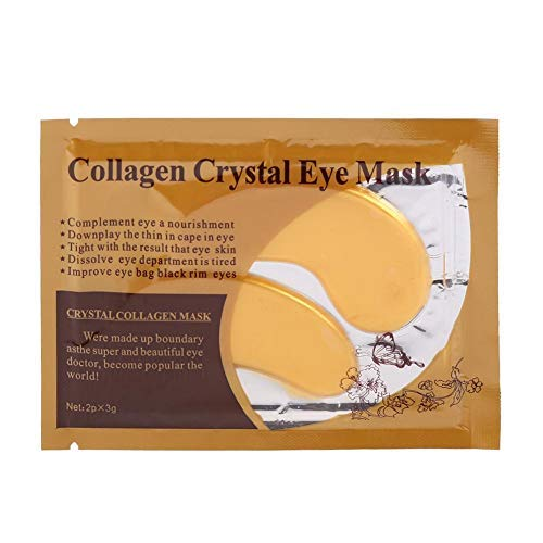 10 Gold Eye Masks - Reduces fine lines, moisturizers, collagen eye masks - Dark Circle Eye Bag Removal, Eye Care Mask