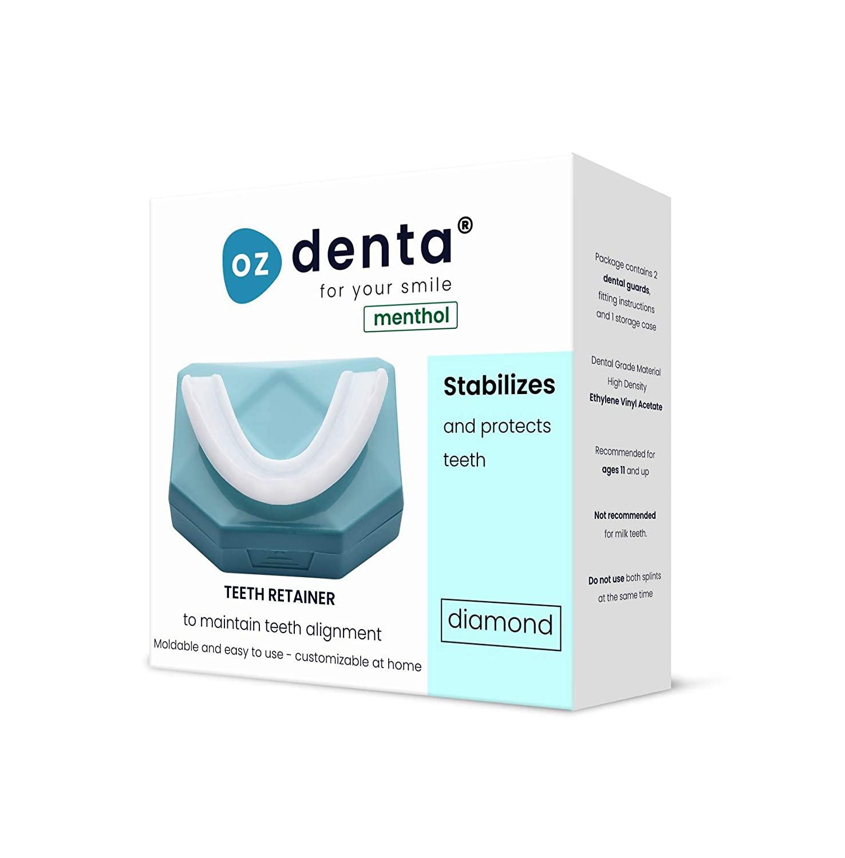 Menthol 2 x OzDenta Ultimate Custom Fit Teeth Retainer