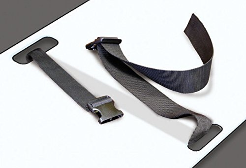 Techno-Aide Restraint Straps for Techno-Aide Transfer Boards, TBR-B90 - Medical Radiology Patient Transfer Board Straps for Use with Techno-Aide Transfer and Bariatric Boards