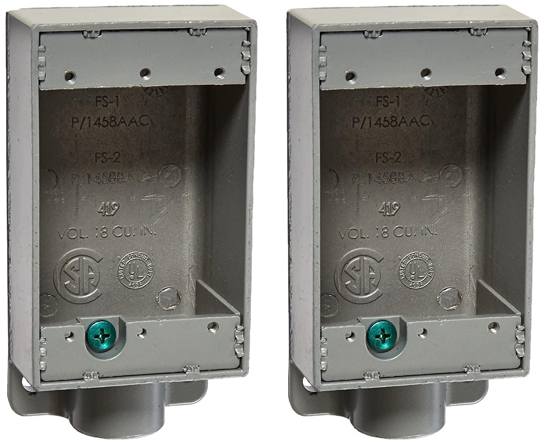 Killark FS-1 FS Type Cast Device Box, 1/2