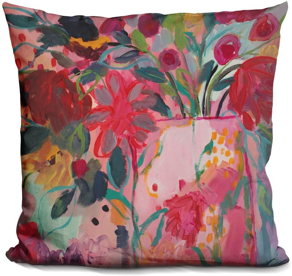 LiLiPi Floral & Botanical Vi Decorative Accent Throw Pillow