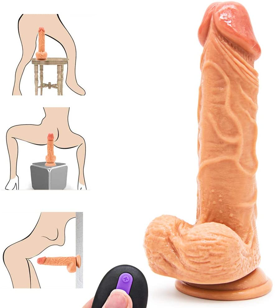 Electric 10 Modes Thrust Powerful Retractable Vibrate Machine Gun Adult Toy Women Intelligent Heating Vibrate Dido Toy Clitorial Simulator Waterproof Vibration Wand for Beginner Rechargeable Tshirt