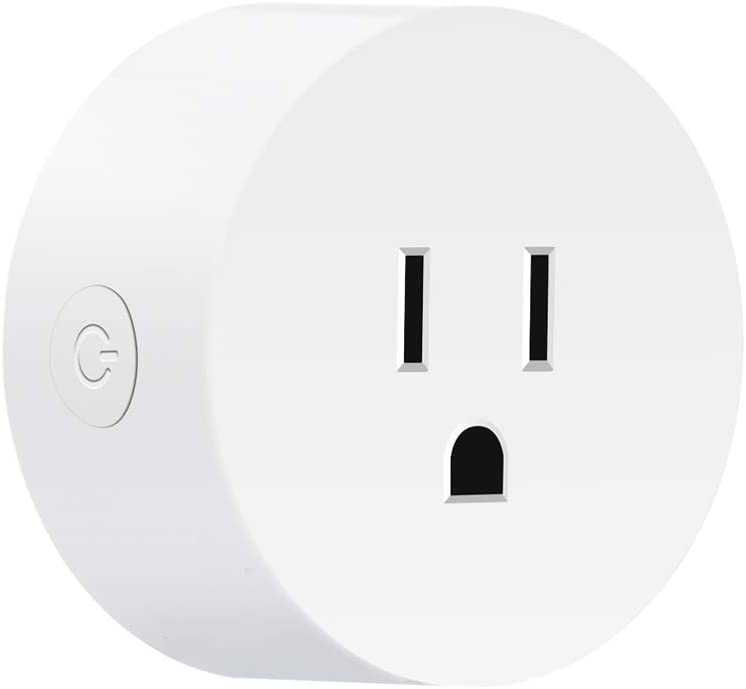 Yakry Smart Plug Wireless Mini Socket Outlet Compatible with Alexa and Google Assistant & IFTTT No Hub Required with Remote Control Your Devices from Anywhere