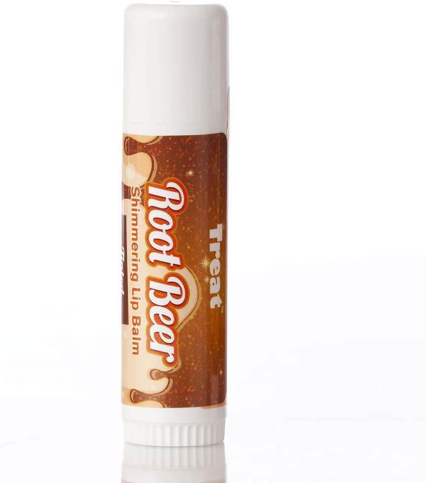 TREAT Jumbo Tinted Lip Balm (Root Beer Shimmering)