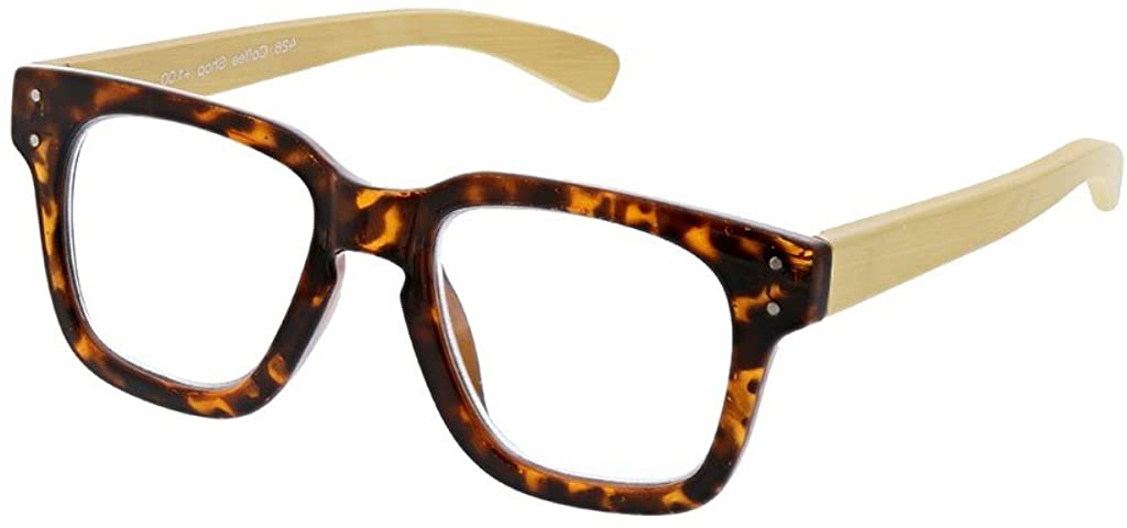Peepers by PeeperSpecs Coffee Shop Square Reading Sunglasses