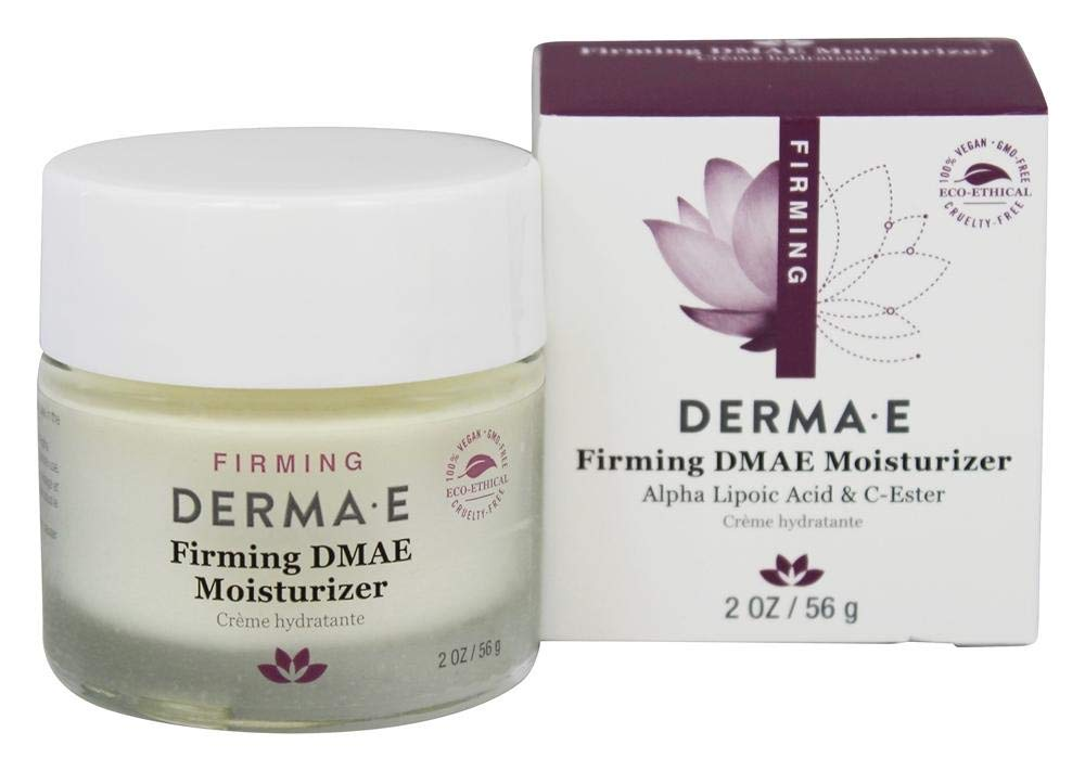 Derma E Firming DMAE Moisturizer Alpha Lipoic Acid & C-Ester, 2 oz ( Pack of 2)