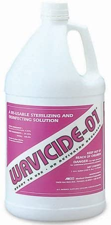 Wavicide Chemical Sterilizing and Disinfecting Solution - 1 Gallon Bottle