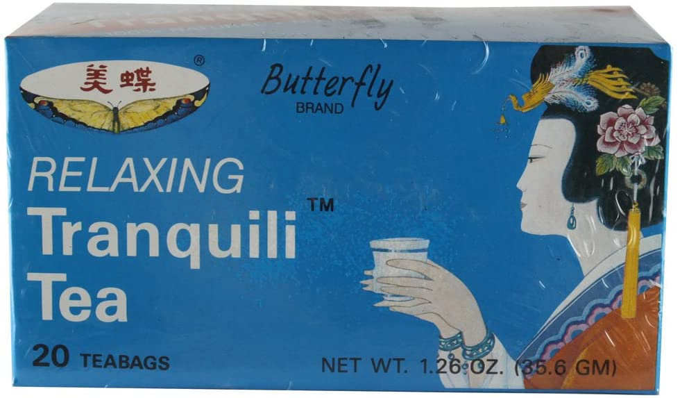 Butterfly Relaxing Tranquil Tea Caffene Free