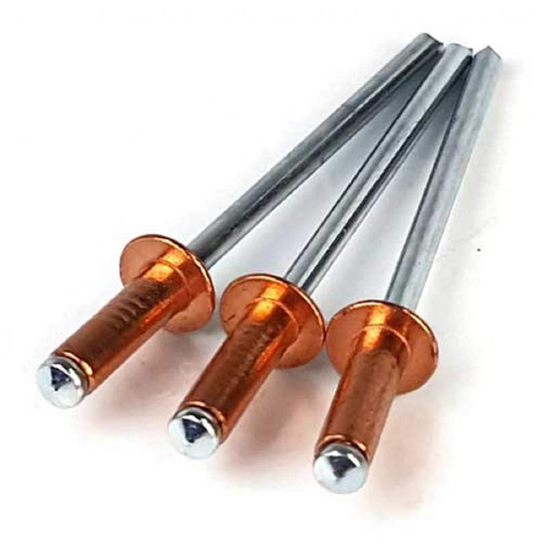 Copper Pop Rivets 4-2 (1/8