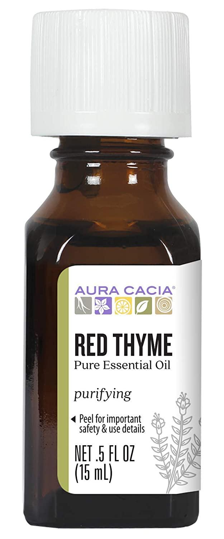 Aura Cacia Ess Oil Thyme Red