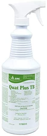 Quat Plus TB Disinfection with Sprayer, DEODORIZING and Cleaning Camper RV Cleaner for VIRUSES EPA Reg. No. 1839-83-527