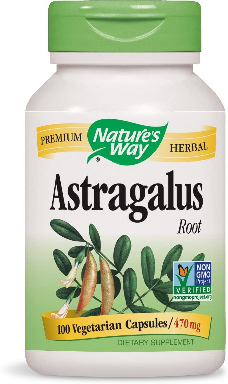 Astragalus - 1.41g 100 Caps [Pack of 8]