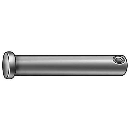 Clevis Pin, 1018, 0.375x1 7/8 L, PK25