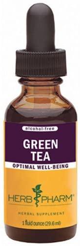Green Tea Glycerite, 4 oz by Herb Pharm (Pack of 3)