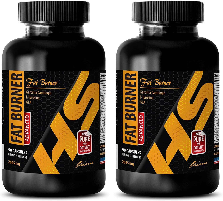 Immune System Herbs - Advanced Fat Burner 2645MG - Weight Management Formula - 2 Bottles (180 Capsules)