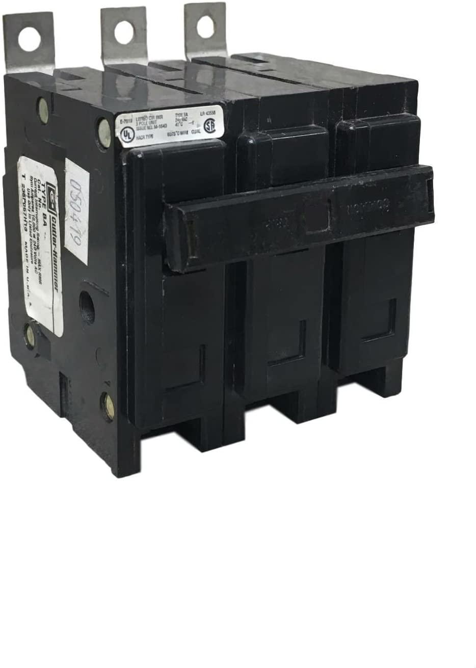 CUTLER HAMMER BAB3025H 240VAC, 3POLE, Circuit Breaker, 25AMP