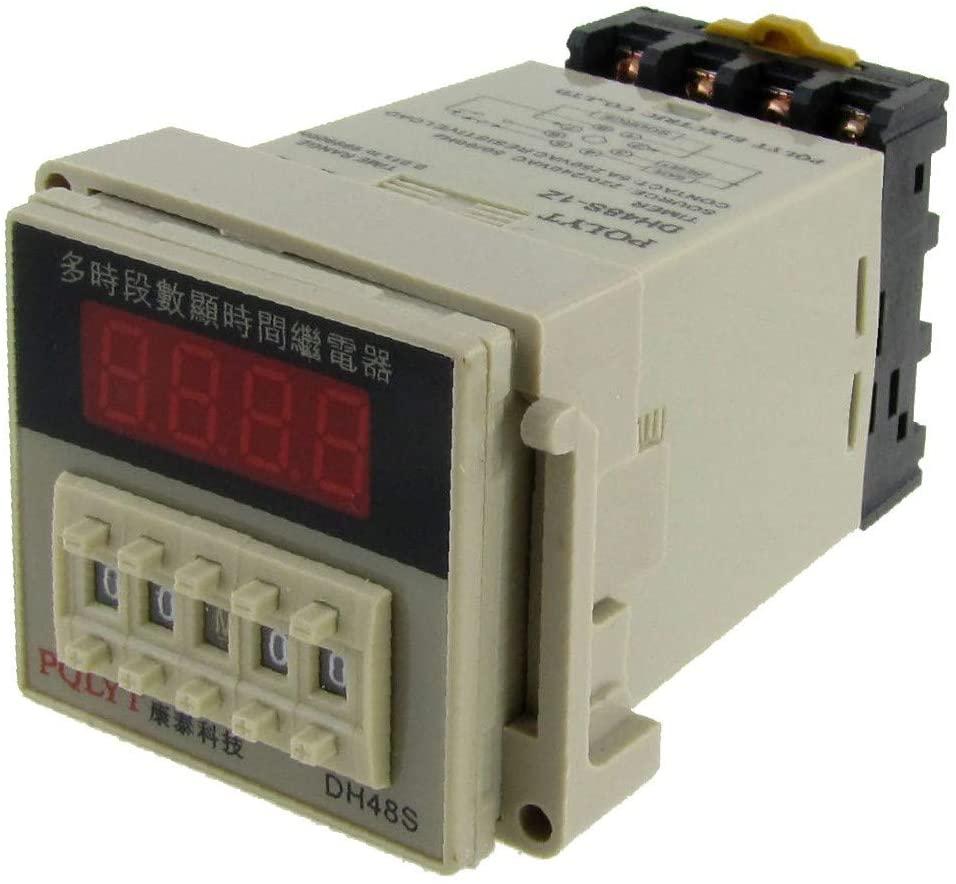 X-DREE AC 220V 240V high performance Digital Timer Time essential Delay Relay 0.01S well made - 99H 99M 8 Pins w Socket(a6f-06-13-881)