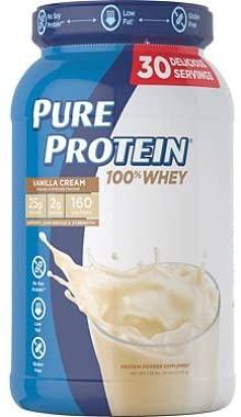 Pure Protein Plus French Vanilla Dietary Supplement - 2.25 Pound.