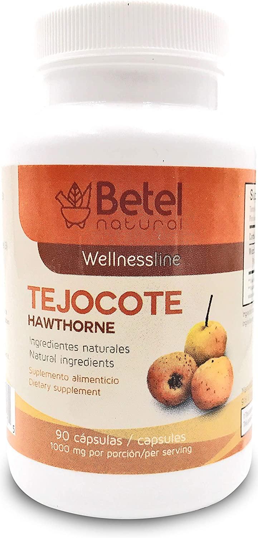 Raiz de Tejocote - Tejocote Root - Weight Loss Management 90 Capsules - Betel Natural