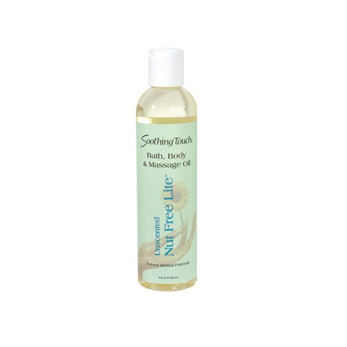 Soothing Touch Massage Oil Nut Free, 8 Fluid Ounce
