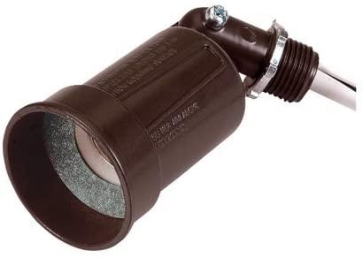 Sigma Weatherproof Pigtail Lampholder Outdoor 2-3/8 In.X2-1/8 In.X5-5/16 In. Brnz