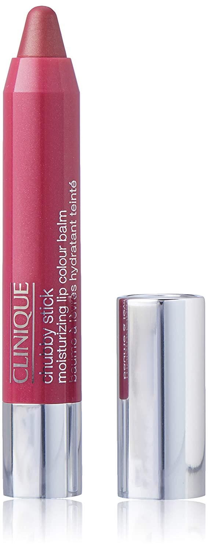 Clinique Chubby Stick Moisturizing Lip Color Balm, No. 07 Super Strawberry, 0.1 Ounce