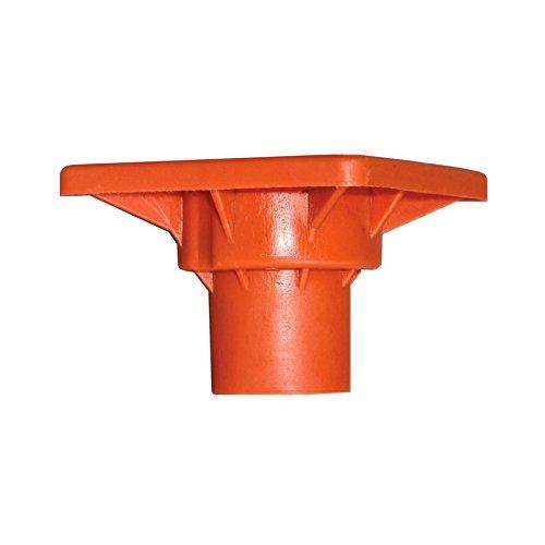 Rebar Impalement Prevention Orange Plastic Safety Cap Disc-10 OSHA Approved FITS #3-#7 Rebar