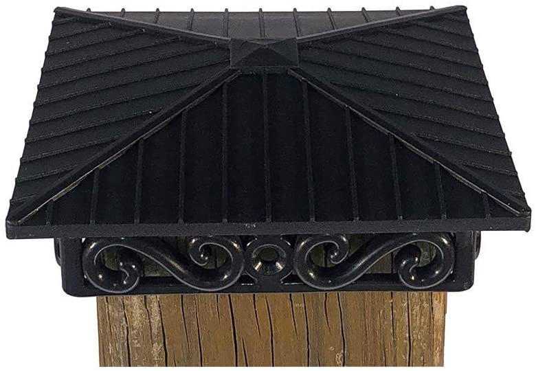 Fence and Deck Rite: 4x4 Post Caps Great for Fences and Any Weather… (4 Pieces)