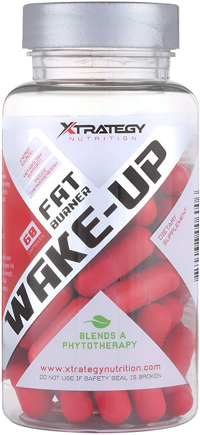 Fat Burner Wake-UP XTRATEGY Nutrition Supplement Appetite SUPPRESSANT Energy Booster ACELERATE Metabolism