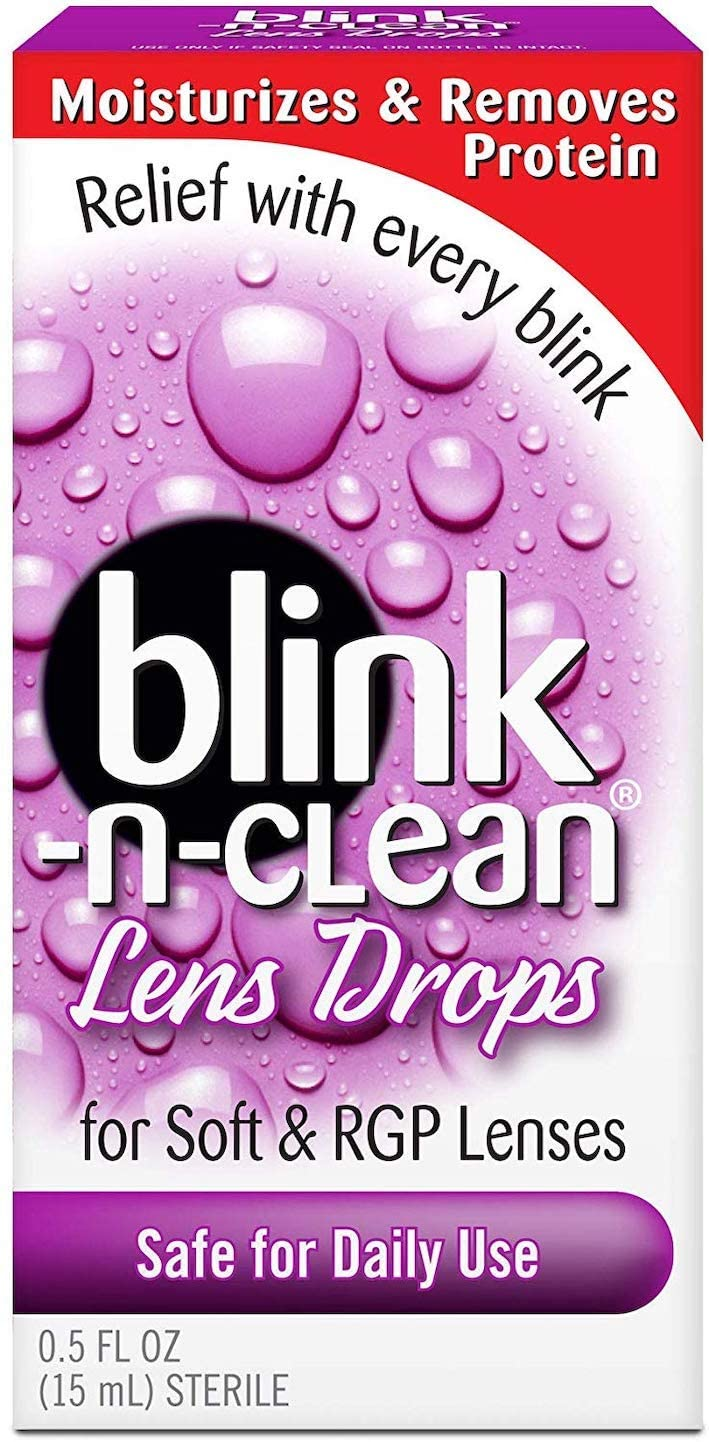 Complete Blink-N-Clean Lens Drops, 0.5 Fluid Ounce,New Edition