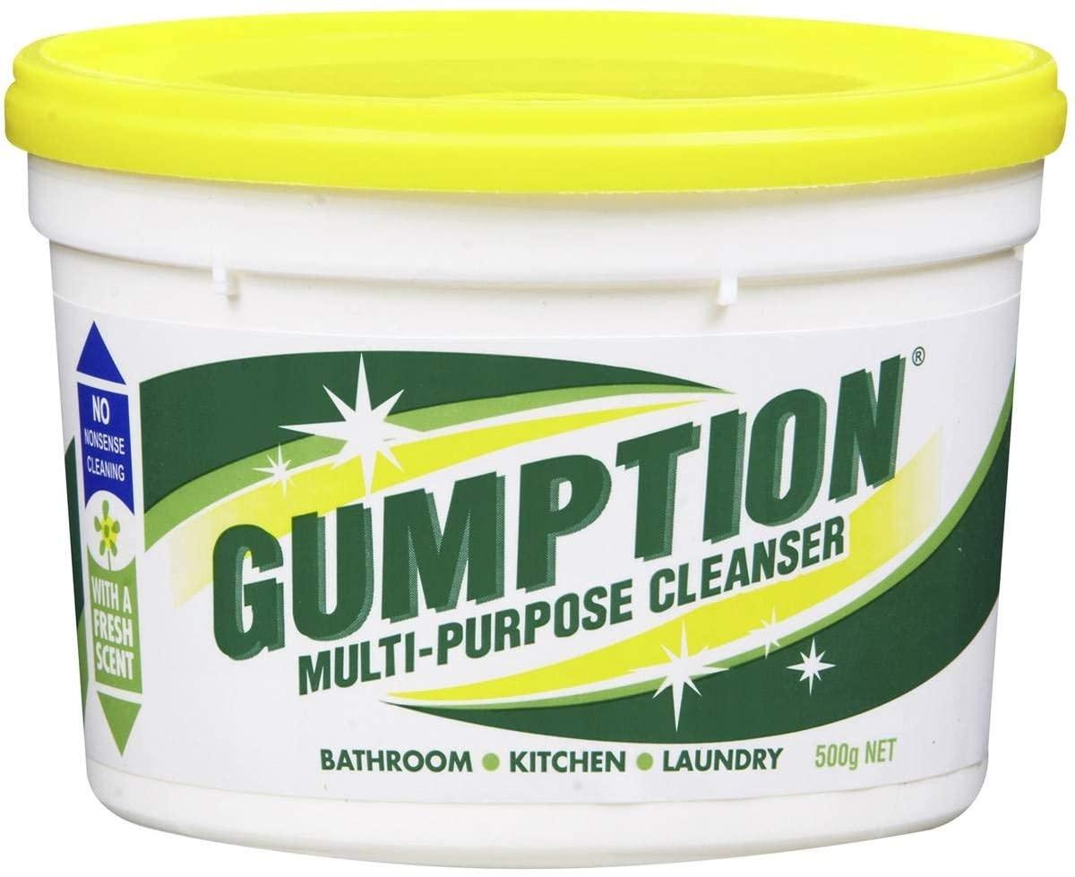 GUMPTION Multi-Purpose Cleanser For Bathroom,Kitchen,Laundry 500g