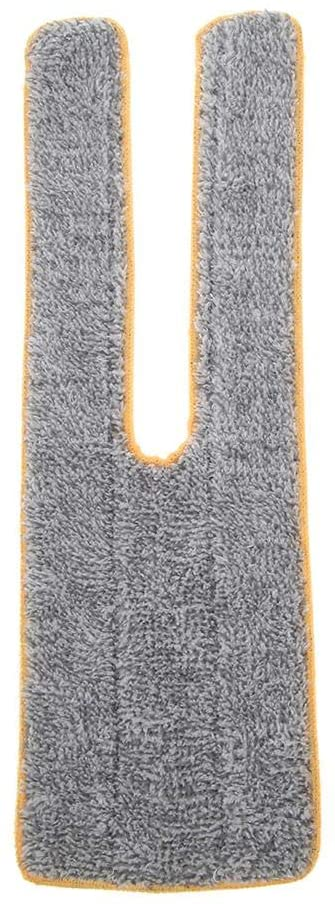 Alloet Home Double-Sided Squeegee Floor Ceramic Tile Flat Mop (Cleaning Cloth Head)