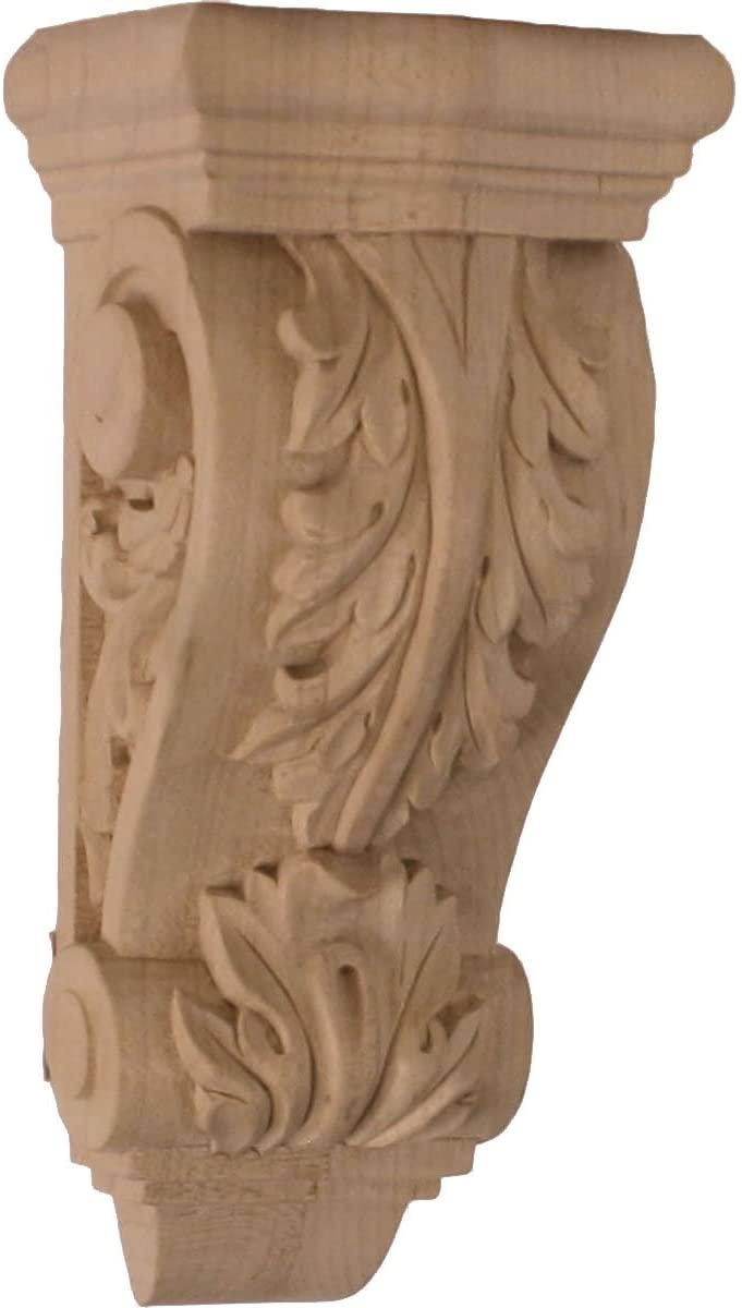 Ekena Millwork COR03X02X07FRLW-CASE-2 Corbel, Factory Primed