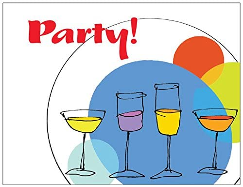 Cocktail Party Invitations by SassyXpressions.com 25/pk