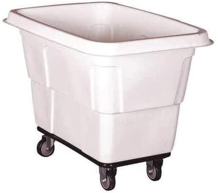 Cube Truck, 7/16 cu. yd, 600lb. Cap, White