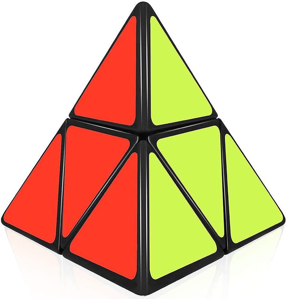 willking Pyramorphix 2x2 Speed Cube Pyraminx 2x2x2 Magic Puzzle Cube Toy Black