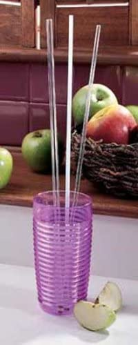 Package Of 10 Reusable Drinking Straws