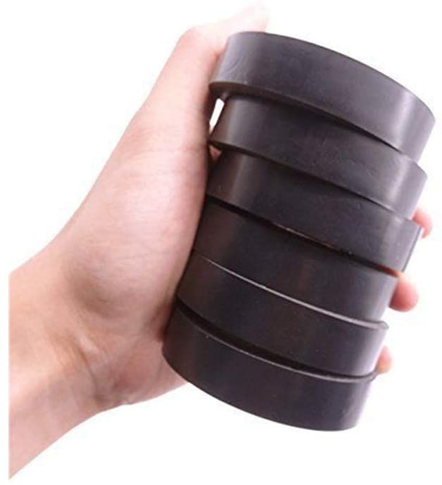 6-Pack Electrical Tape 0.6 Inch 15M Electrical Insulation Tape, 50 Feet Black