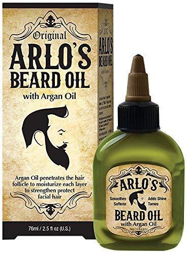 Arlo's Beard Oil - Argan Oil 2.5 ounce (2 Pack)