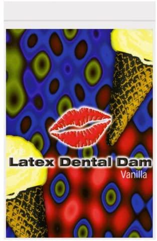 Latex Dental Dam, Vanilla