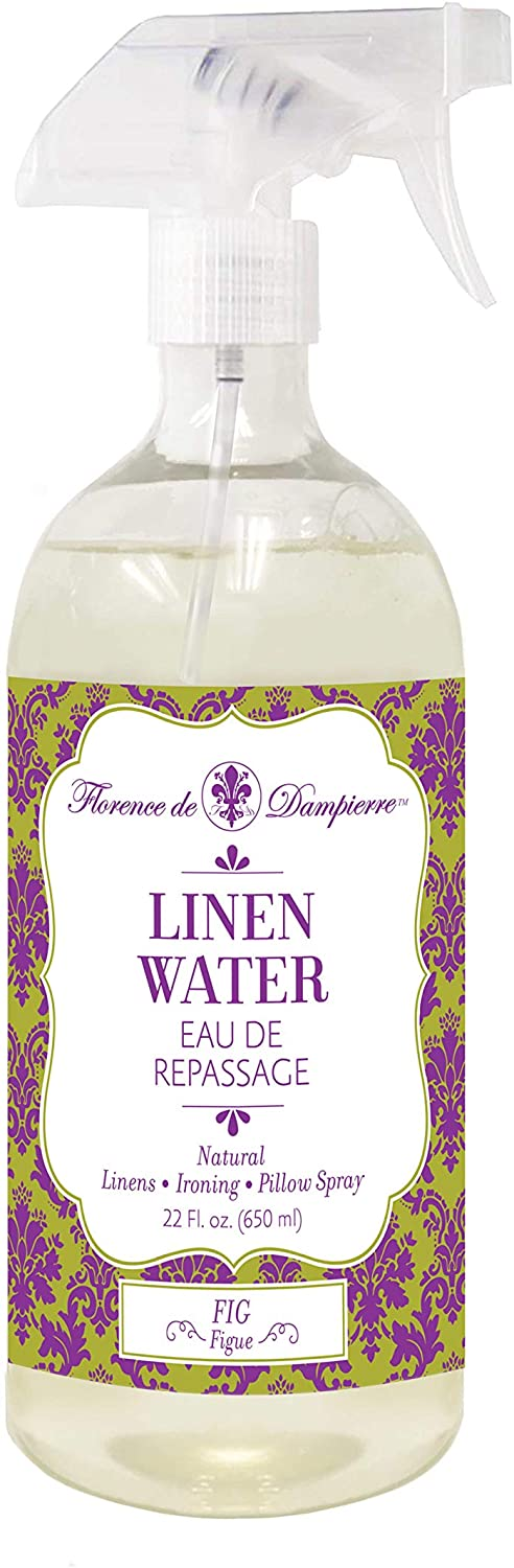 Florence de Dampierre All Natural and Organic Fabric Fresh Linen & Ironing Water Spray, Fluid Ounces - Fig