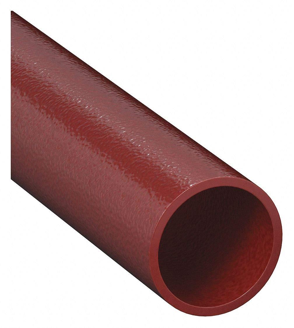 Red EMT Conduit, 3/4 In., 10 ft. L, Steel