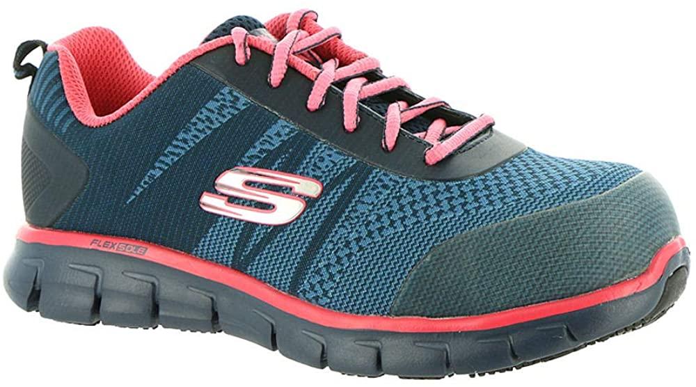 Skechers Work Sure Track Saquenay Alloy Toe Womens Sneakers