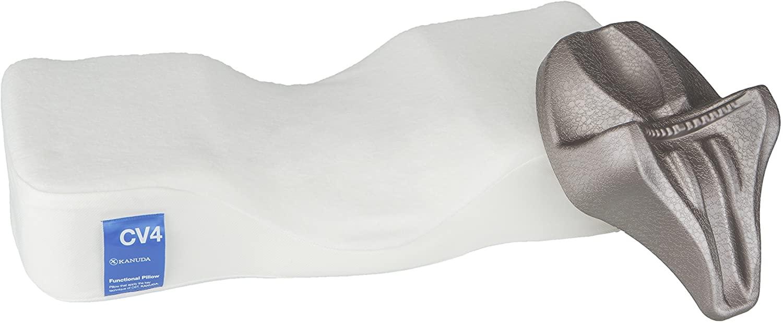[Official]KANUDA CV4 Traction Pillow Single Set, Memory Foam Pillow, Cervical Pillow(Medium) -Made in Korea-