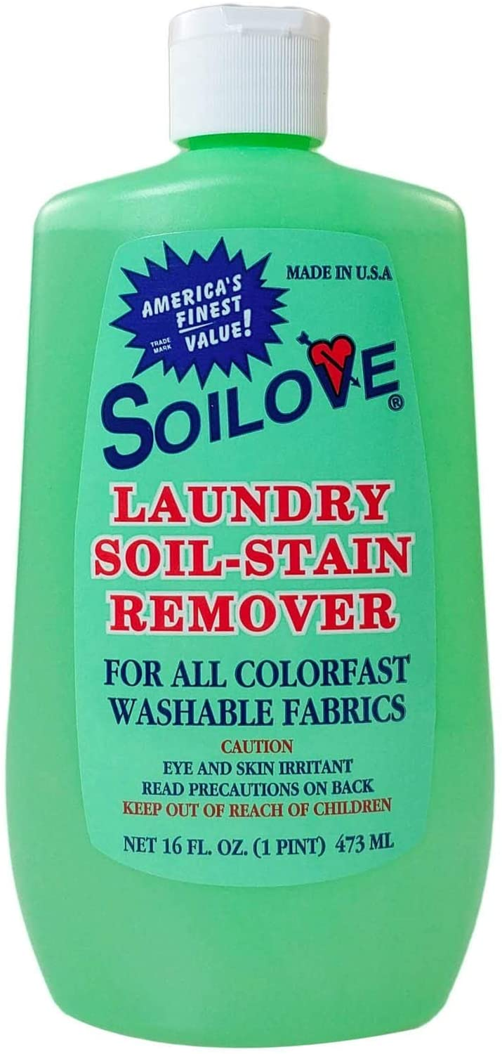 SOILOVE Laundry Soil-Stain Remover ~ 12 Pack ~ Deep Discount ~ Give Away To Family & Friends ~ No Risk ~! ~ Removes Blood, Grass, Grease, Ink, Blood & Most Other Stains ~ 100% Green ~ Try It Now!
