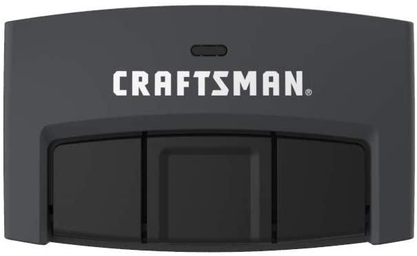 Craftsman CMXZDCG453 3-Button Garage Door Remote, Black