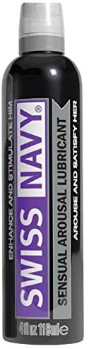 Md Science Swiss Navy Sensual Arousal Lubricant, 4 Ounce