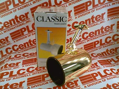 LIGHTOLIER 9120-PB Lighting Fixture Round Back 50/75W Bulb POL Brass